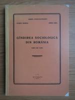 Miron Constantinescu, Ovidiu Badina, Gall Erno - Gandirea sociologica din Romania