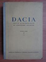 Anticariat: Dacia. Revue d'archeologie et d'histoire ancienne (volumul 9)