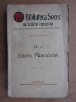 Dimitre Onciul - Din istoria Romaniei (1914)