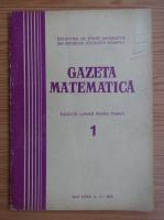Anticariat: Gazeta Matematica, anul LXXX, nr. 1, 1975