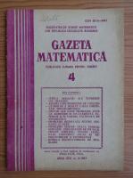 Anticariat: Gazeta Matematica, anul LXXX, nr. 4, 1975