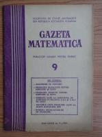 Anticariat: Gazeta Matematica, anul  LXXXI, nr. 9, 1976