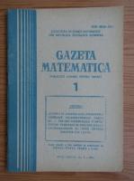 Gazeta Matematica, anul LXXXIX, nr. 1, 1984