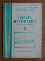 Anticariat: Gazeta Matematica, anul LXXXVIII, nr. 2, februarie 1983