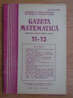 Anticariat: Gazeta Matematica, anul XCII, nr. 11-12, 1987