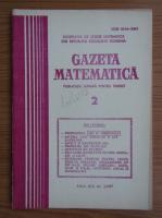 Anticariat: Gazeta Matematica, anul XCII, nr. 2, 1987