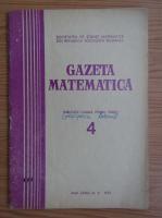 Anticariat: Gazeta Matematica, anul XCII, nr. 4, 1987
