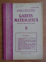 Anticariat: Gazeta Matematica, anul XCII, nr. 5, 1987