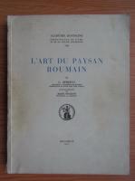 George Oprescu - L'art du paysan roumain (1937)