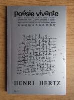 Anticariat: Henri Hertz - Poesie vivante