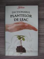 Anticariat: Eugen Mihaescu - Dictionarul plantelor de leac