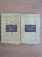 Goethe - Poezie si adevar (2 volume)