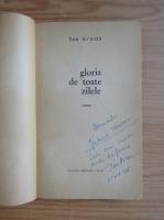 Ion Arama - Gloria de toate zilele (cu autograful autorului)