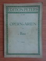 Anticariat: Kurt Soldan - Opern Arien fur Bass (partitura)