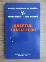 Nicolae Ecobescu - Dreptul tratatelor