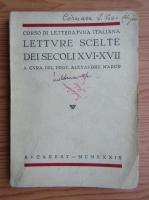 Alexandru Marcu - Letture scelte dei secoli XVI-XVII (1939)