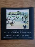 Anticariat: Artisti romani in dialog cu spatiul si spiritualitatea franceza