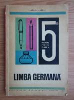 Anticariat: Basilius Abager - Limba germana. Manual pentru clasa a V-a (1971)