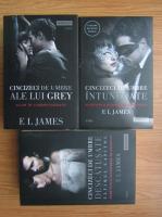 Anticariat: E. L. James - Cincizeci de umbre ale lui Grey (3 volume)