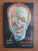 Emil Manu - 133 de poezii