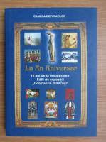 Anticariat: La an aniversar. 10 ani de la infiintarea Salii de expozitii Constantin Brancusi, 1993-2003