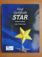 Luke Prodromou - First Certificate Star. Student's Book