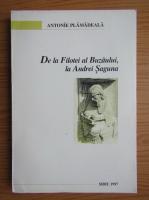 Anticariat: Antonie Plamadeala - De la Filotei al Buzaului la Andrei Saguna
