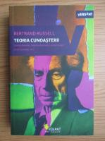 Bertrand Russell - Teoria cunoasterii