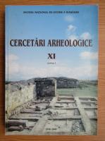 Cercetari arheologice (volumul 11, partea I)