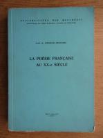 Cornelia Bejenaru - La poesie francaise aux XX-e siecle