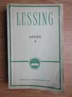 Anticariat: Gotthold Ephraim Lessing - Opere (volumul 1)