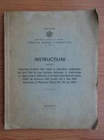 Anticariat: Instructiuni pentru calcularea bordului liber roman si intocmirea certificatelor de bord liber la vase maritime (1939)