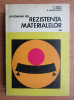 Anticariat: Panait Mazilu - Probleme de rezistenta materialelor (volumul 2)