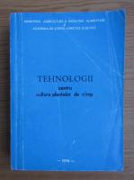 Tehnologii pentru cultura plantelor de camp