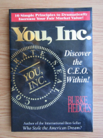 Burke Hedges - You, Inc. Discover the CEO Within