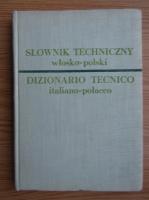 Anticariat: Dictionar tehnic italian-polonez