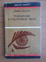 Dinicu Golescu - Insemnare a calatoriilor mele