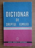 Gheorghe Tomsa - Dictionar de dreptul familiei