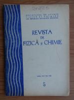 Anticariat: Revista de Fizica si Chimie, anul XXII, nr. 5, mai 1985