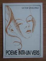 Victor Sahleanu - Poeme intr-un vers