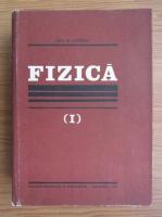Anticariat: Ion M. Popescu - Fizica (volumul 1)