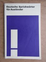 Christa Frey - Deutsche Sprichworter fur Auslander