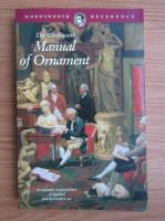 Richard Glazier - Manual of Ornament