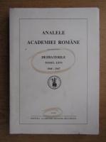 Anticariat: Analele academiei romane