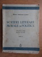 Anticariat: Bogdan Petriceicu Hasdeu - Scrieri literare morale si politice (1937)