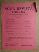 Anticariat: C. Radulescu-Motru - Noua Revista Romana. Sociala, critica, stiintifica si literara, vol. XVIII, nr. 10, 26 iunie-3 iulie 1916