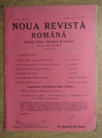 Anticariat: C. Radulescu-Motru - Noua Revista Romana. Sociala, critica, stiintifica si literara, vol. XVIII, nr. 11, 10-17 iulie 1916