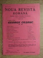 C. Radulescu-Motru - Noua Revista Romana. Sociala, critica, stiintifica si literara, vol. XVIII, nr. 9, 12-19 iunie 1916
