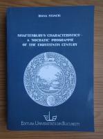 Diana Stanciu - Shaftesbury's characteristics, a socratic programme of the eighteenth century