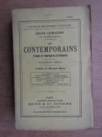 Jules Lemaitre - Les contemporains (1930)